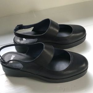 Camper Navy Mary Jane's Size 40 New without box!